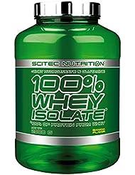 Scitec Nutrition 100% Whey Isolate, Suplimento Nutricional de Proteinas con Sabor de Banana,