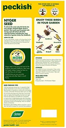 Peckish Nyjer Bird Seed for Wild Birds, 2 kg 3