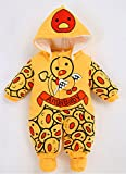 Minetom Verdickte Warm Unisex Baby Overall Süßigkeit Cartoon Winterjacke Schneeanzüge Strampelanzug Mit Kapuze Jumpsuit Kinderkleidung Engel 59 Test