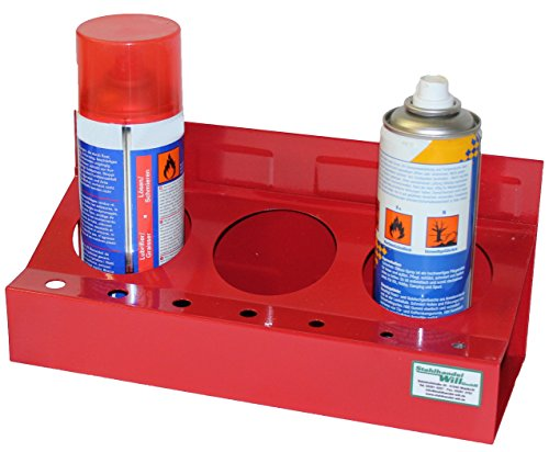 2 Stück Magnet Spraydosen Set Dosenhalter Magnet Werkzeugwagen Werkzeug Wagen