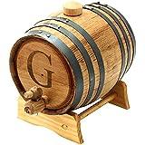 Cathy's Concepts Personalized Original Bluegrass Barrel, Medium, Letter G