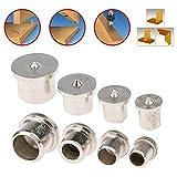 Vanker 8PCS 6mm/8mm/10mm/13MM cavo con tassello trapano centro punti pin set legno falegnameria drill DIY Tools