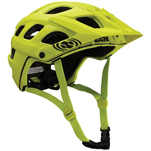IXS Trail-RS Casque VTT All-Mountain/Enduro Mixte Adulte, Vert, 58-62 cm