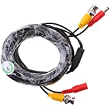 Street27 BNC Video And Power Cable Wire Cord With Connector For HD Security Camera 5m