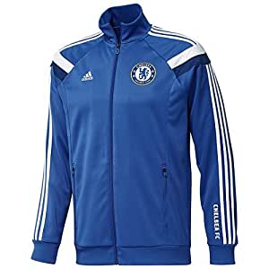 2013-14 Chelsea Adidas Anthem Track Top (Blue)