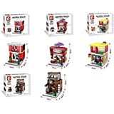 Fast Food Joints Lego Like Building Blocks From Sembo Blocks To Construct McDonalds Star Bucks KFC And Ice Cream Parlour Educational Toy For Kids