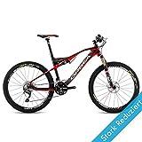 Orbea OIZ M50 14 Größe 18,5/M Rot Mountainbike Fahrrad Remote-Gabel MTB DH, B24019L1