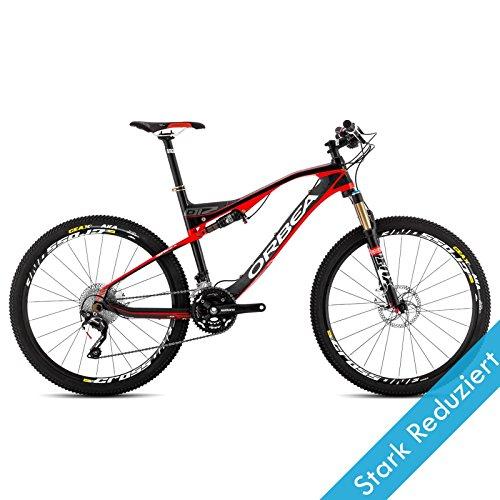Orbea OIZ M50 14 Größe 18,5/M Rot Mountainbike Fahrrad Remote-Gabel MTB DH, B24019L1 (Joch Pendelleuchte)
