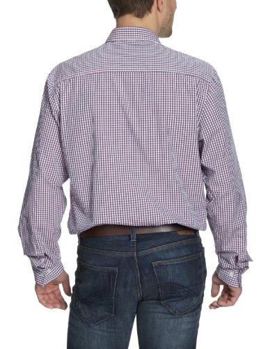 LERROS Herren Freizeithemd 21D1009 Violett (dark fuchsia 866)