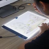 Etbotu A4 Ultra-thin Portable LED Light Box Tracer,USB Charging Copyboard,Artcraft Tracing Light Pad for Artists Drawing Sketching Animation Stencilling