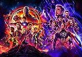 Creative Weihua Murale Avengers League Film Thème Fond D'écran Cinéma Peinture Papier Peint (H) 200 * (W) 140cm un