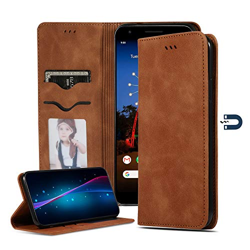 Funda Huawei P Smart Z Cover, Magnet Closed Portable [Card slots Wallet]  Business Leather - Estilo de Libro con Función de Soporte de Video (P Smart