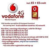 Vodafone Prepaid simpack 3 in 1 incl. 5euro beltegoed Bild