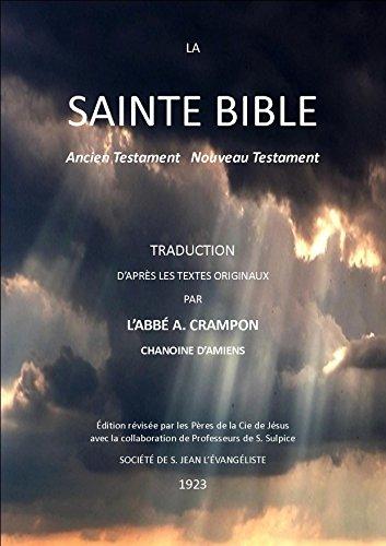 LA SAINTE BIBLE: ANCIEN TESTAMENT NOUVEAU TESTAMENT