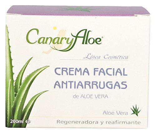 Canaryaloe Aloe Vera Antifalten Gesichtscreme 200ml