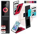 reboon Hülle für Obi Worldphone SF1 Tasche Cover Case Bumper | Rot | Testsieger