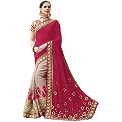 Sarees(Saree For Indian E Fashion sarees for women party wear offer designer sarees for women latest design sarees new collection saree for women saree for women party wear saree for women in Latest Saree With Designer Blouse Free Size Beautiful Saree For Women Party Wear Offer Designer Sarees With Blouse Piece)