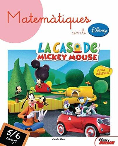 Matemàtiques Amb Disney! De 5 A 6 Anys por Diversos Autors