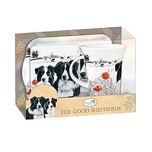 "Border Collie ""The Good Shepherds"" Teatime Gift Set"