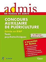Concours auxiliaire de puériculture : Entrée en IFAP - Tests psychotechniques