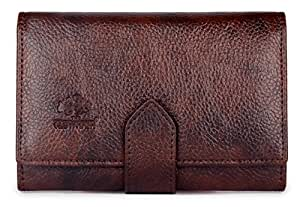 The Clownfish Dark Brown Women's Wallet