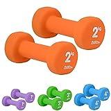 just be. Hantel-Set - Orange - 2kg