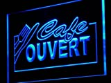 ADV PRO j154-b OUVERT Cafe Shop Neon Barlicht Neonlicht Lichtwerbung Barlicht Neonlicht Lichtwerbung