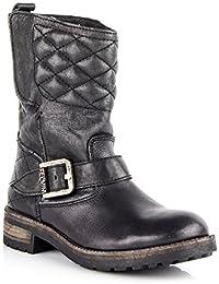 5 von 5 Sternen 2 · Felmini Damen Schuhe - Verlieben Harlem 8489 - Cowboy    Biker Hohe Stiefel - Echtes Leather 87a829869d
