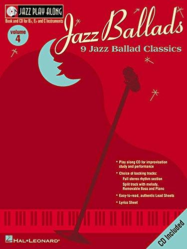Jazz Ballads: Jazz Play-along: 4 (Jazz Play-Along Series)