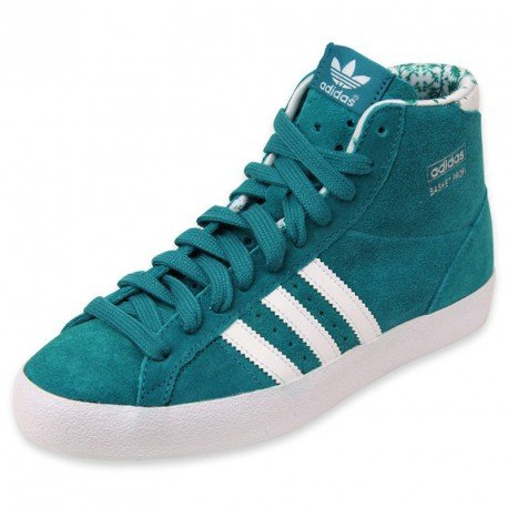 finest selection 4f585 df3a8 5. adidas Hightop Sneaker Basket Profi W grün EU 36