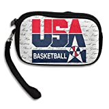 Launge USA 2016 Olympic Basketball Team Logo Coin Purse Wallet Handbag