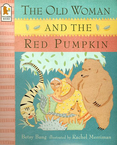 Old Woman And The Red Pumpkin