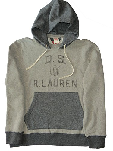 Preisvergleich Produktbild Ralph Lauren Hoodie Sweatshirt Grau D.S: R.Lauren Grau XXL