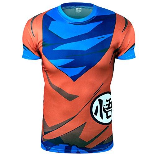 ideograma Color Naranja de Punto/Azul Sayan Cosplay pidak Shop (Medium)