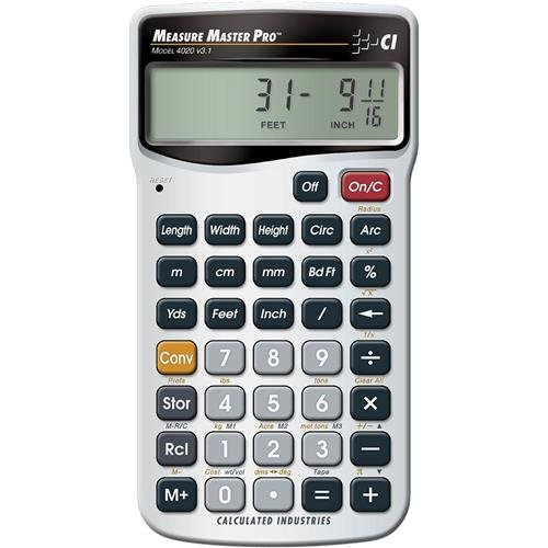 Professional Calculator Business (Calculated Industries Metrisches dreidimensionale Taschenrechner)
