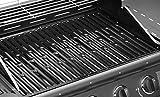 TAINO® PRO Gasgrill BBQ Grill-Wagen 4 Edelstahl-Brenner TÜV Gasbrenner Farbe Schwarz (Gasgrill 4+0) - 5