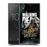 Head Case Designs Officiel AMC The Walking Dead Daryl, Carol & Michonne Saison 9 Citations Coque en Gel Doux Compatible avec Sony Xperia E5