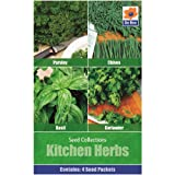 Vegetables Seed Collections - 4 in 1 pack -...