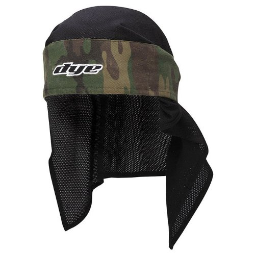 Dye Paintball Zubehör Head Wrap Stirnband, Olive, Onesize