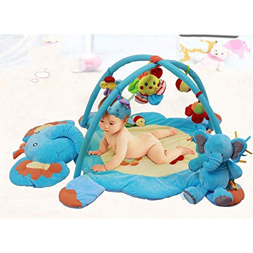 Suave Baby Playmat Activity Gym Play Mat Baby Toy Educación temprana Super Soft Plush Activity Gym...