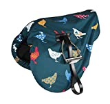 Waterproof Ride On Saddle Cover Chicken Print