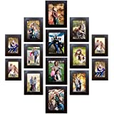 [Sponsored]PPD Memory Wall Photo Frame Set Classic Set Of 14 Individual Photo Frames By Paper Plane Design