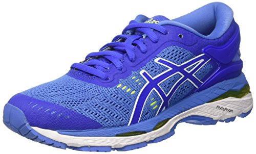 Asics Damen Gel-Kayano 24 Laufschuhe, Blau (Blue Purple/Regatta Blue/White), 41.5 EU (Gel-kayano Asics)