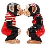 Kissing Chimps Salt and Pepper Set