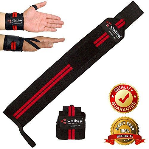 Gewichtheben Handgelenk-Bandagen für Fitness-Training, Gewichtheben, Powerlifting, Crossfit-Training, mit Langer
