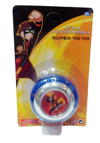 Impulse Kid Krrish Super Yo Yo with Light, Blue