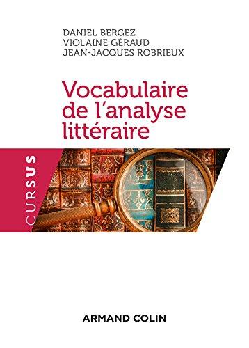 Vocabulaire de l'analyse littraire - 3e d.