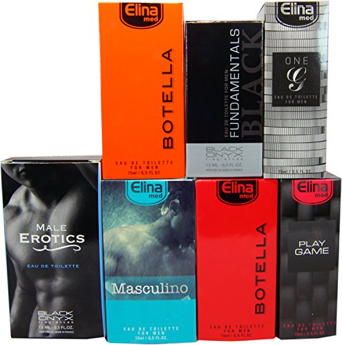 Set di 7 (sette) Profumi Premium Made in Germany. Ogni