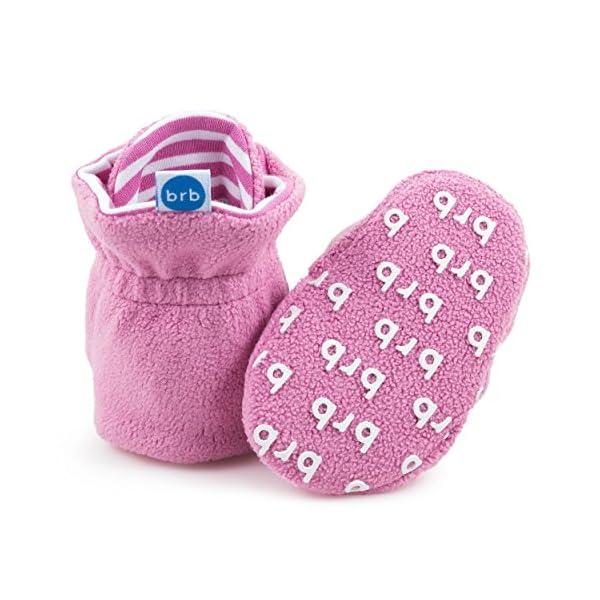 BirdRock Baby Botines de Bebé - Suave Algodon Organico, Mejor Que Calcetines! - Zapato Bebés 5