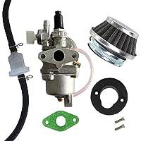 Aisen Carburateur avec filtre à air et tuyau - Pour pocket bikes et dirt bikes de 47cc et 49cc - robinet de carburant 2temps